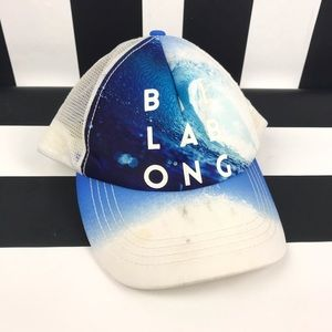 5 for $25 Billabong Blue Wave Trucker Hat